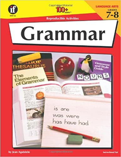Amazon.com: Grammar, Grades 7-8, 100 Reproducible Activities ...