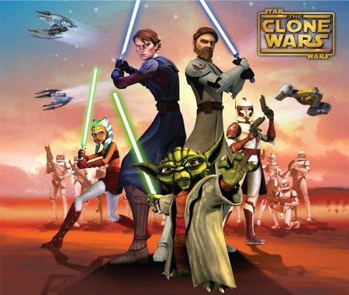 Star Wars Cuddly Wrap Sticker Set Clone Wars Blanket