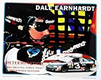 Signed Dale Earnhardt Sr. Picture - 8x10 Racing Determination #3 - Autographed Photos