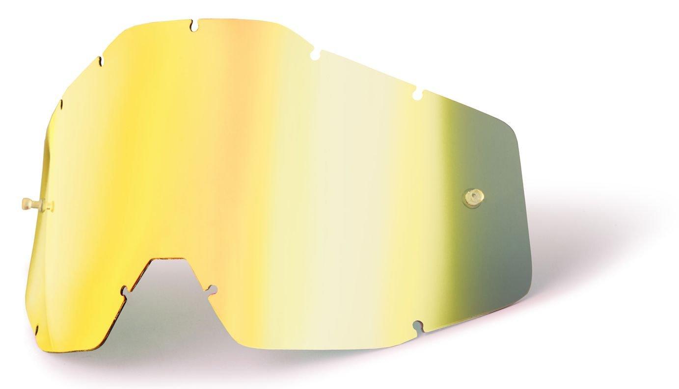 verspiegelt 100/% Ersatzglas Racecraft//Accuri//Strata Gold
