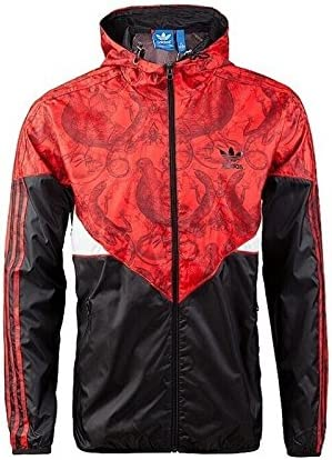 Der Klassiker in rot: College Jacke von Adidas Originals, um
