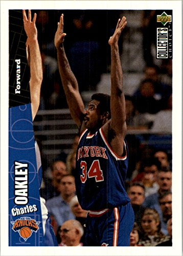 1996-97 Collector's Choice International French #101 Charles Oakley - - Collectors Oakley