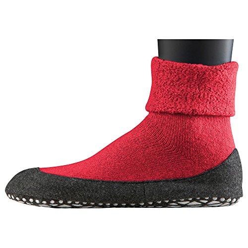 Falke 16560 Cosyshoe Socke - Calcetines cortos para hombre autumn red