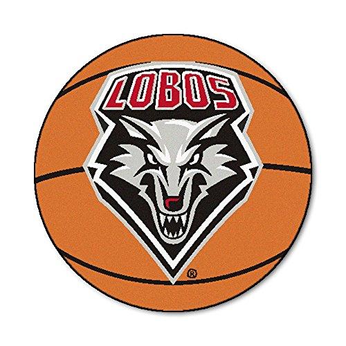 New Mexico Basketball Rug (University of New Mexico Basketball Area Rug)
