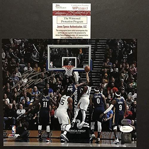 - Autographed/Signed Donovan Mitchell Utah Jazz 8x10 Basketball Photo JSA COA #2