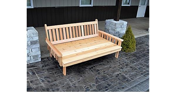 Mejor Daybed Furniture en casa y patio asiento, cedro de 6 ...
