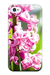 Cute Appearance Cover/tpu JCRXtwr1137kHqwO Amazing Pink Flowers Case For Iphone 4/4s