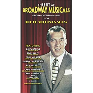 The Best of Broadway Musicals - Classic Performances from The Ed Sullivan Show movie