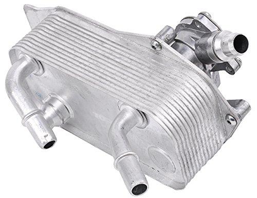 (TOPAZ 17217529499 Auto Transmission Oil Cooler with Mount Base for BMW 1 & 3 Series E81 E82 E87 E88 E90 E91 E9 X1 Z4)
