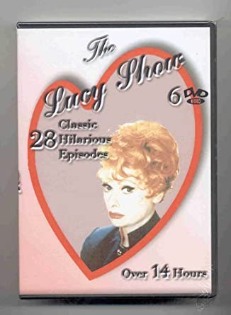 The Lucy Show - 28 Episodes 6 DVD Set by Lucille Ball: Amazon.es ...