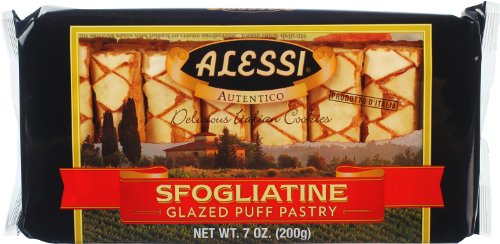 Alessi Sfogliatine Glazed Puff Pastry, 7 Ounce (Pack of -