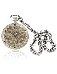 Catorex Men's 091.1.1402.000 Les Petites Brass Skeleton Dial Pocket Watch