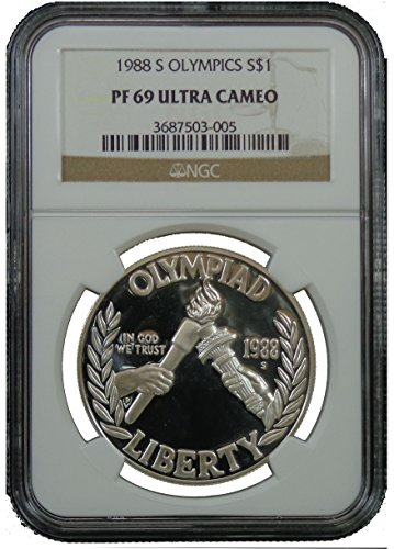 1988 S Olympic Commemorative Dollar NGC PF69