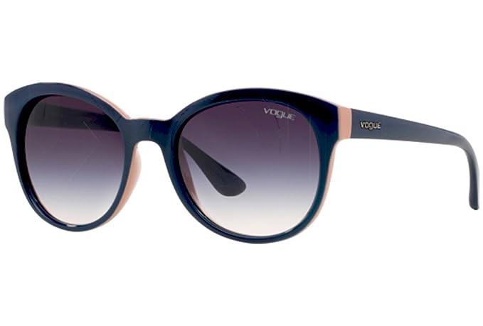 Vogue Sunglasses VO2795S 204236 Top Blue Antique Pink Gray Gradient ... 145424ad47a