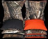 corn bags for hunting - Cornhole Bean Bags REALTREE Orange & Black Camo Hunting Real Tree Camouflage