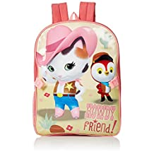"Sheriff Callie's Wild West ""Rustle Up Some Fun"" Backpack with Lunchbox - pink, one size"