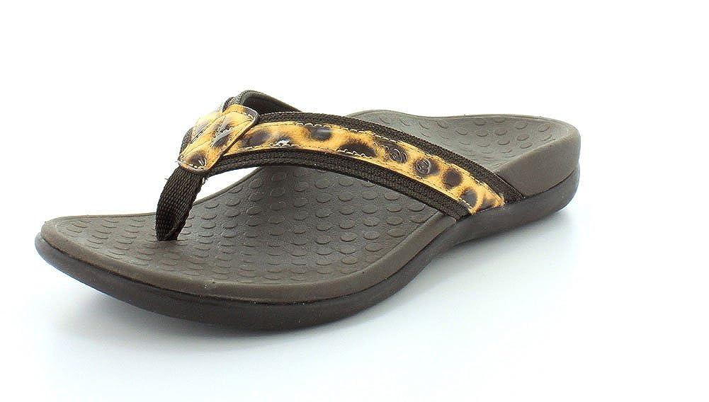 Brown Leopard Vionic Women's Tide II Black