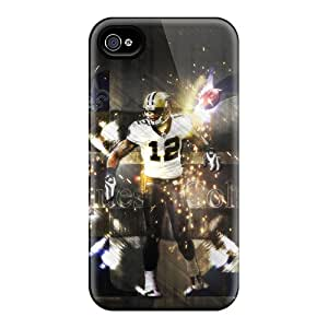 Hot New Orleans Saints First Grade Tpu Phone Case For Iphone 4/4s Case Cover