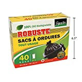 40-pc STRONG Outdoor Garbage Bags, signatutre, Biodegradable