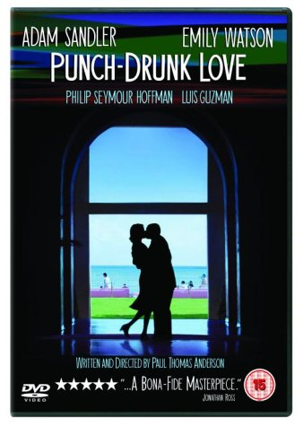 Bilderesultat for punch drunk love dvd cover