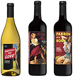 Vintages by Harlequin Wine Mixed Pack, 3 x 750 mL