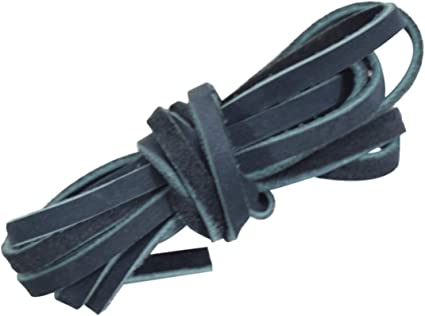 Long :: Charcoal Suede Cord Braiding String for Crafts//Tooling//Workshop Medium Weight 1.8mm Thick Wide Hide /& Drink Leather Strong 3mm. 75 in.