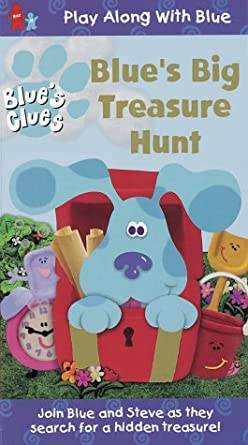 Amazoncom Blues Clues Blues Big Treasure Hunt Vhs Blues