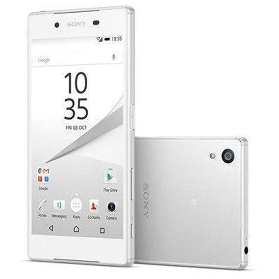 Sony Xperia Z5 E6653 3GB/32GB 23MP 5 2-inch 4G LTE Factory Unlocked (White)  - International Stock No Warranty