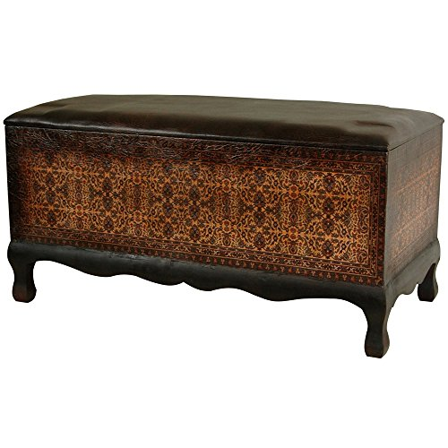 Oriental Furniture Olde-Worlde Euro Baroque Bench