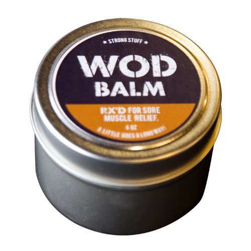 WOD Balm - 4oz. RX'D for Sore Muscle Relief (Tension Relief Balm)