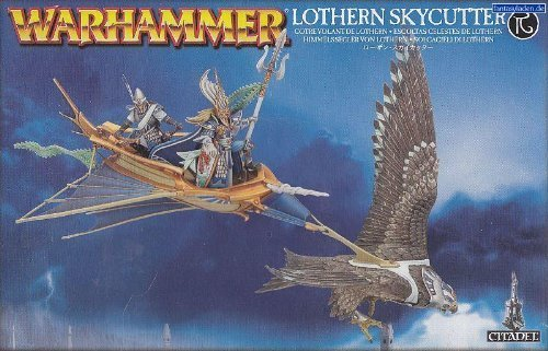 Warhammer High Elf Lothern Skycutter (2013, 1 figure) by Games Workshop