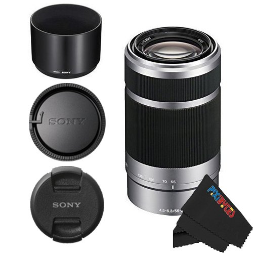 Price comparison product image Sony E 55-210mm F4.5-6.3 OSS Lens for Sony E-Mount Cameras (Silver)