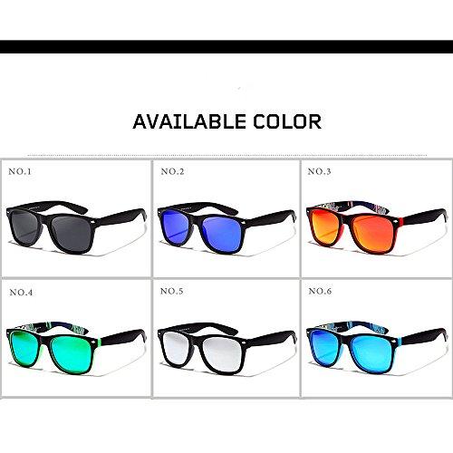 Sol para Sol Gafas Hombre Conducen Que Gafas Las De Sol C4 de De De C2 Color Las Gafas Sol De Gafas LBY 8UqETx