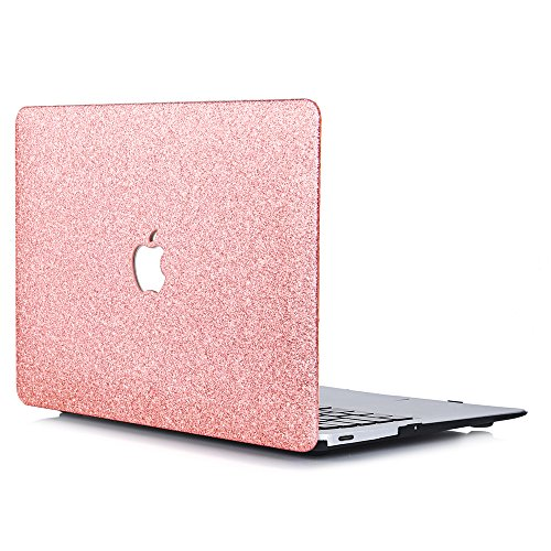 B BELK - MacBook 12'' with Retina Display Case,2 In 1 Bling Crystal Smooth Ultra-Slim Light Weight PC Hard Case With Keyboard Cover For MacBook 12 Inch(Model:A1534) - Shining Rose Golden by B BELK (Image #1)