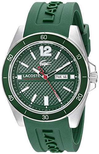 Lacoste Men's 2010800 Seattle Analog Display Japanese Quartz Green Watch