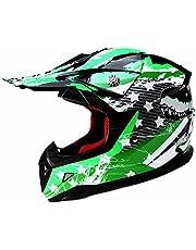 YEMA Motocross Motorradhelm Downhill Fullface Helm YM-211 Cross DH Enduro Quad Mountainbike BMX MTB Helm ECE für kinder