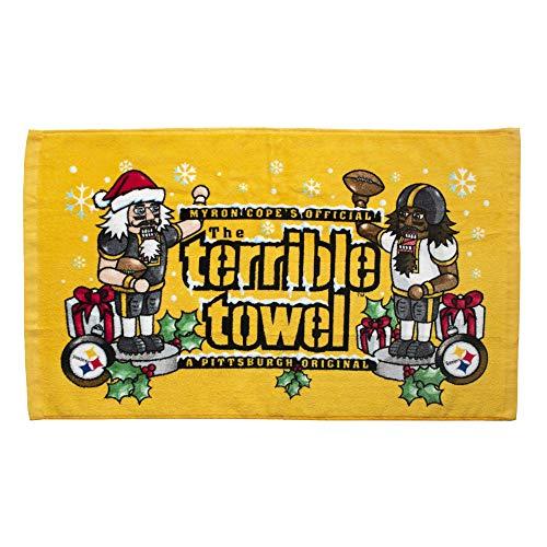 (Pittsburgh Steelers Holiday Terrible Towel)