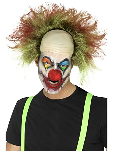 [Smiffy's 46871 Sinister Clown Wig (one Size)] (Women's Clown Wig)
