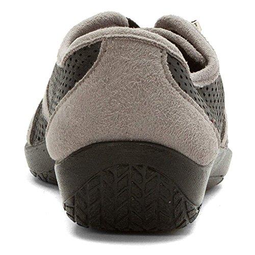 Arcopedico 4861 Leta Kvinna Mode Sneakers Svart / Grå