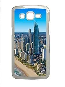 Gold Coast PC Case Cover for Samsung Grand 2 and Samsung Grand 7106 Transparent