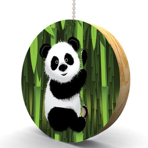 d Oak Fan / Light Pull (2 Inch Bamboo Cabinet Knob)