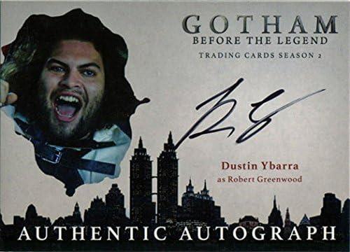 Gotham Season 2 Auto Autograph Card Dustin Ybarra DY