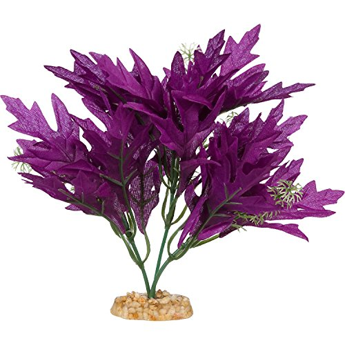 Imagitarium Purple Bunch Silk Aquarium Plant, (Medium Aquarium Plant)