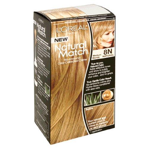 Couleur des cheveux Natural Match 8N Blond Moyen femmes