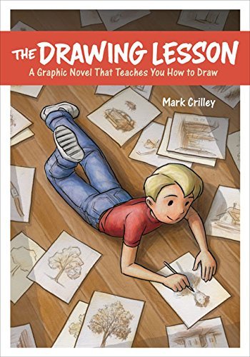 Drawing Lesson Graphic Novel Teaches product image