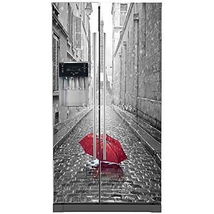 Motodak Art Déco Stickers - Pegatinas para Nevera, Paraguas de la ...