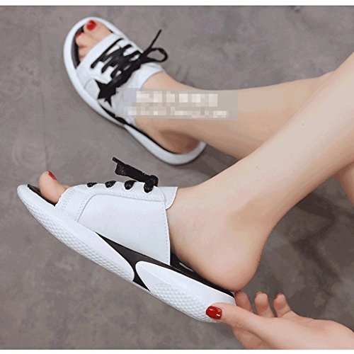 Flip Flop Slipper Female Summer Fashion Wear Summer Wind Korean Version Of Sandals (Size : 6.0) L9hlRwKbqF