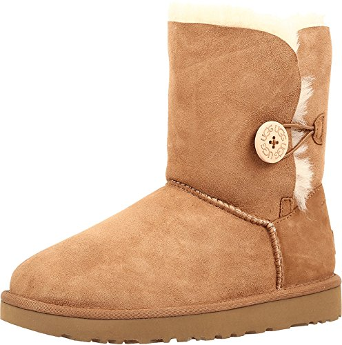 UGG Women's Bailey Button II Winter Boot, Chestnut, 10 B US