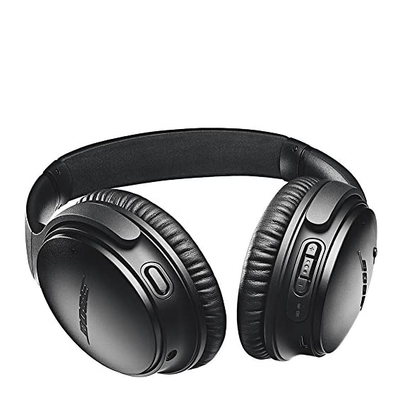 Bose QuietComfort 35 (Series II) Wireless Headphones 3 World-class noise cancellation Bluetooth and NFC pairing with voice prompts Your Google Assistant & Amazon Alexa, built in