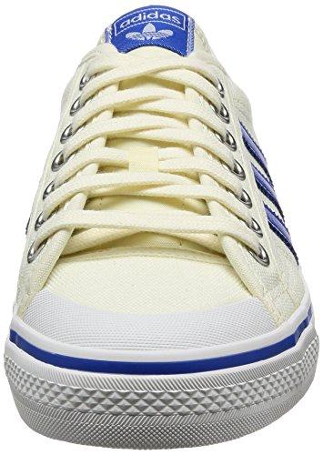 casbla Nizza Blanches Adultes Unisexes Blacla Baskets Adidas Azul AUOxXqROw